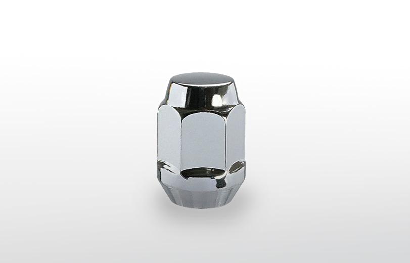 60°テーパー座 ロング(31mm) クロム ホイールナット M12×P1.5 19HEX
