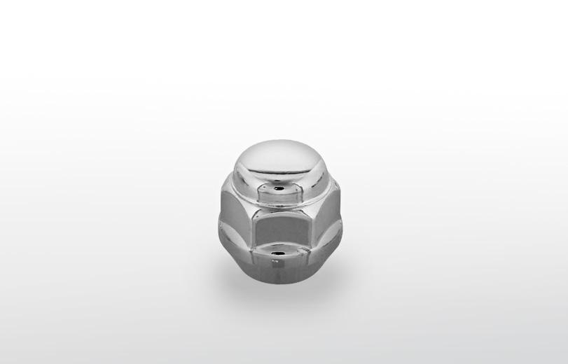 60°テーパー座 ショート(23mm) クロム ホイールナット M12×P1.25 19HEX