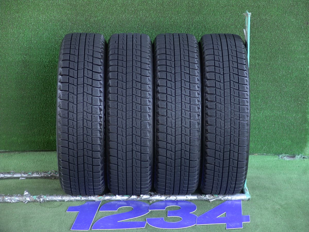 DAIHATSU タント 純正 ブラック BRIDGESTONE BLIZZAK REVO1 155/65R14 4本SET