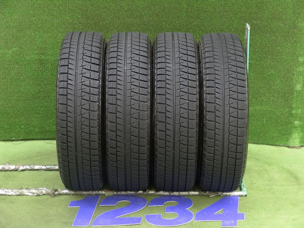 TOYOTA ヴィッツ 純正 ブラック BRIDGESTONE BLIZZAK REVO-GZ 165/70R14 4本SET