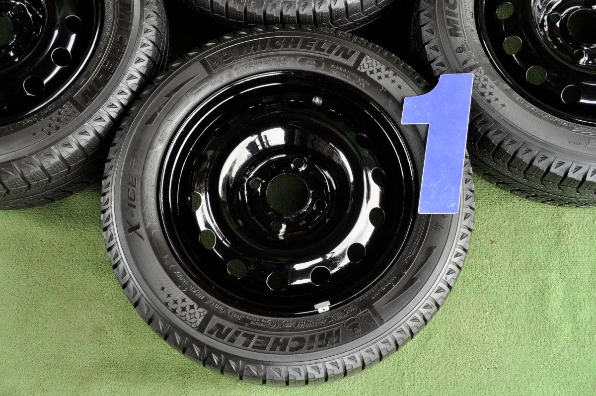 PEUGEOT 206 純正 ブラック  MICHELIN X-ICE XI2 175/65R14 4本SET