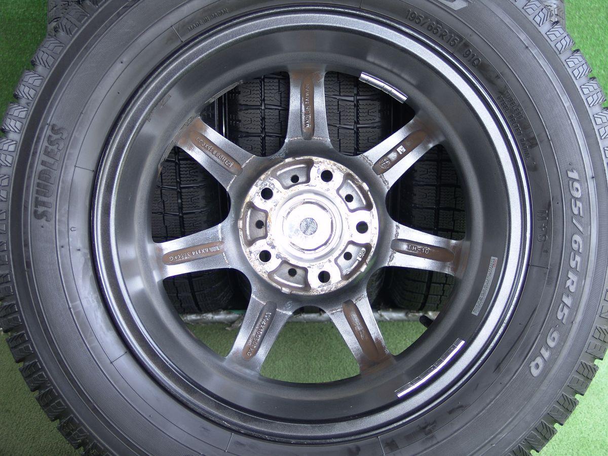 LINEA シルバー TOYO GARIT G5 195/65R15 4本SET