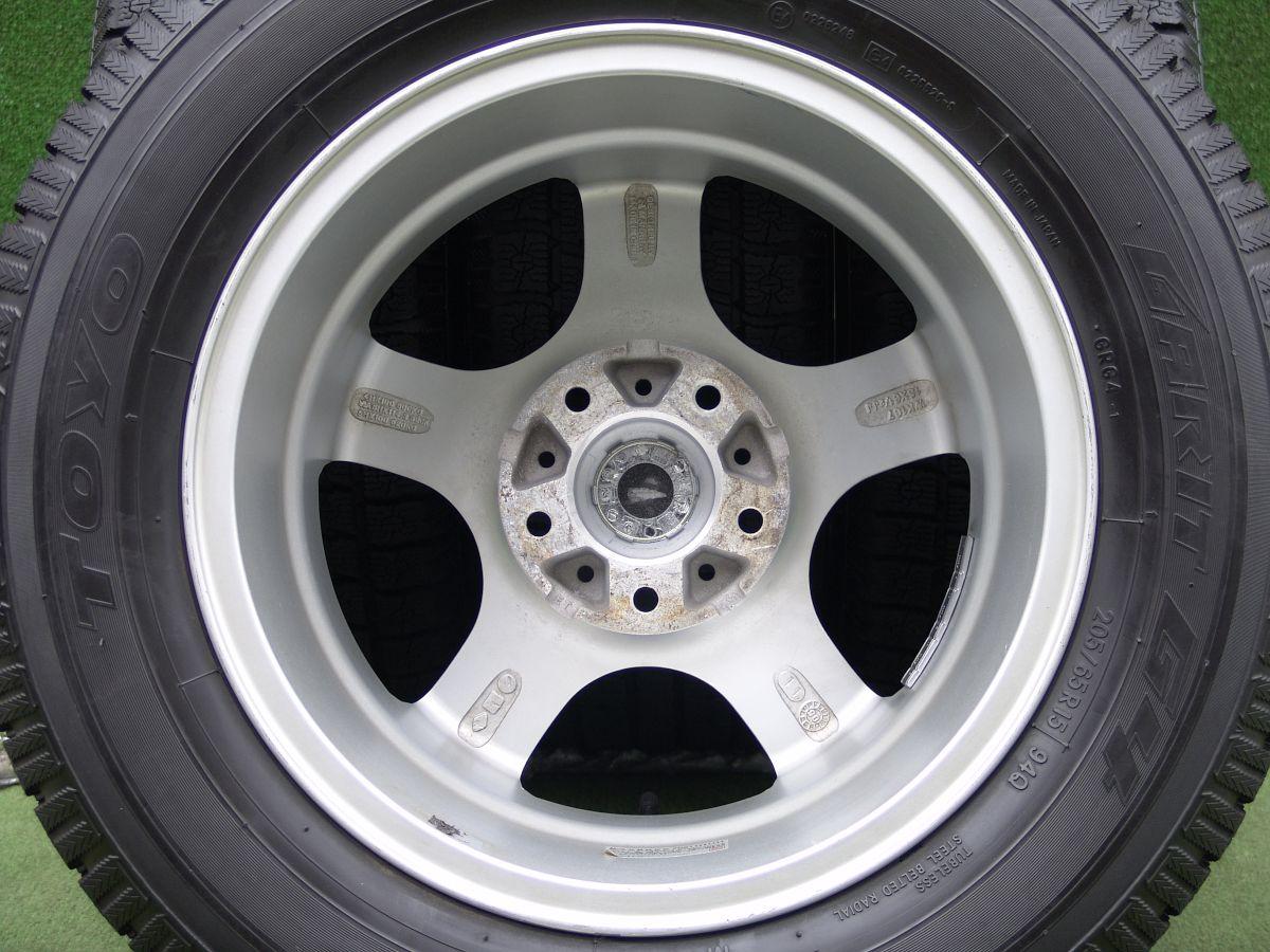MANARAY SPORT EUROEDITION STYLE N5 シルバー TOYO GARIT G4 205/65R15 4本SET