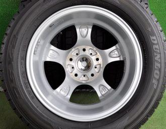 DUNLOP (ダンロップ) VIOLENTO (ヴィオレント) IS 15×6J(+43)114.3-5H シルバー DUNLOP (ダンロップ) DSX-2 195/65R15 4本SET