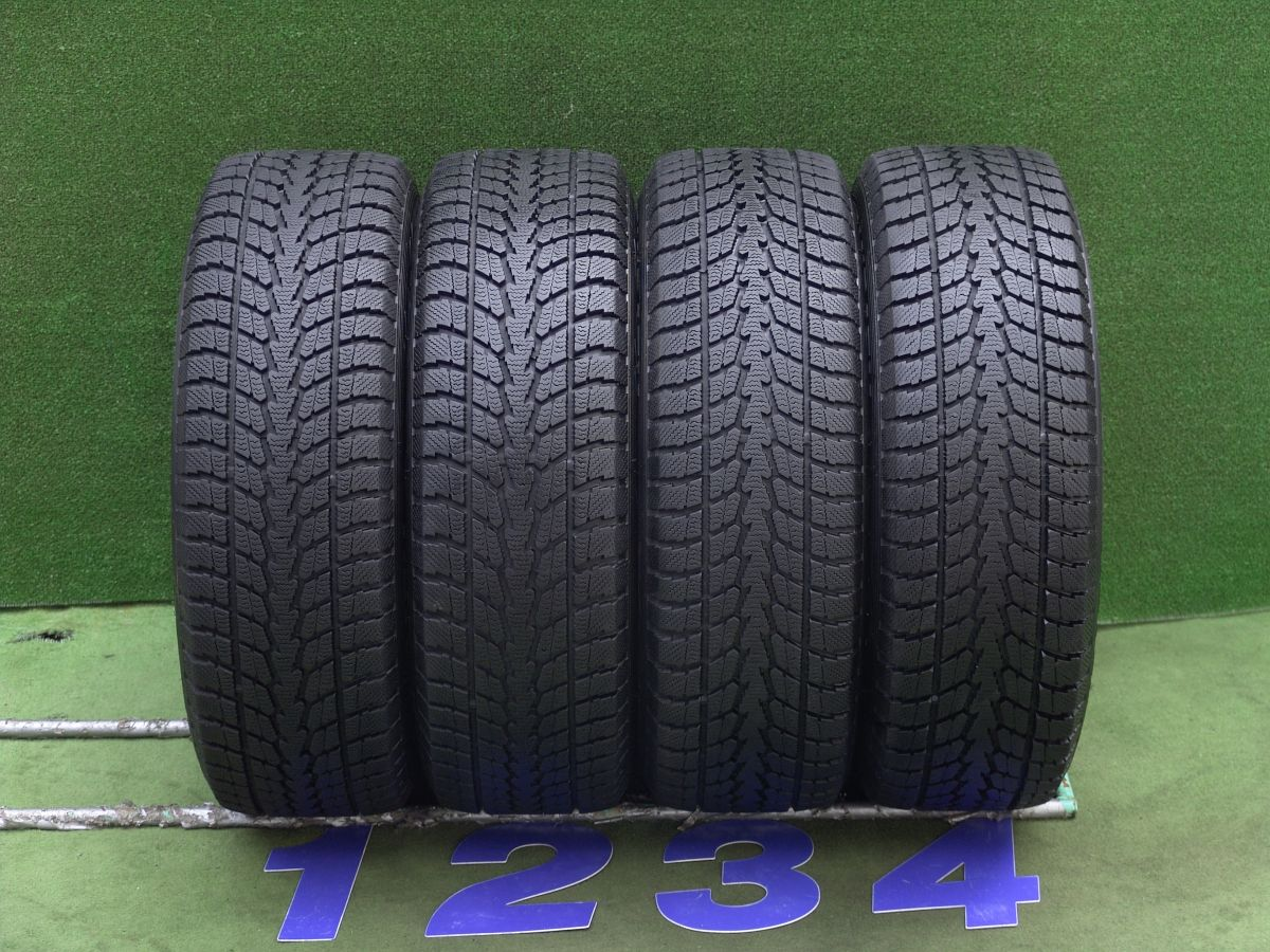 WEDS RAVRION SPIRIT シルバー TOYO Winter TRANPATH S1 225/65R17 4本SET