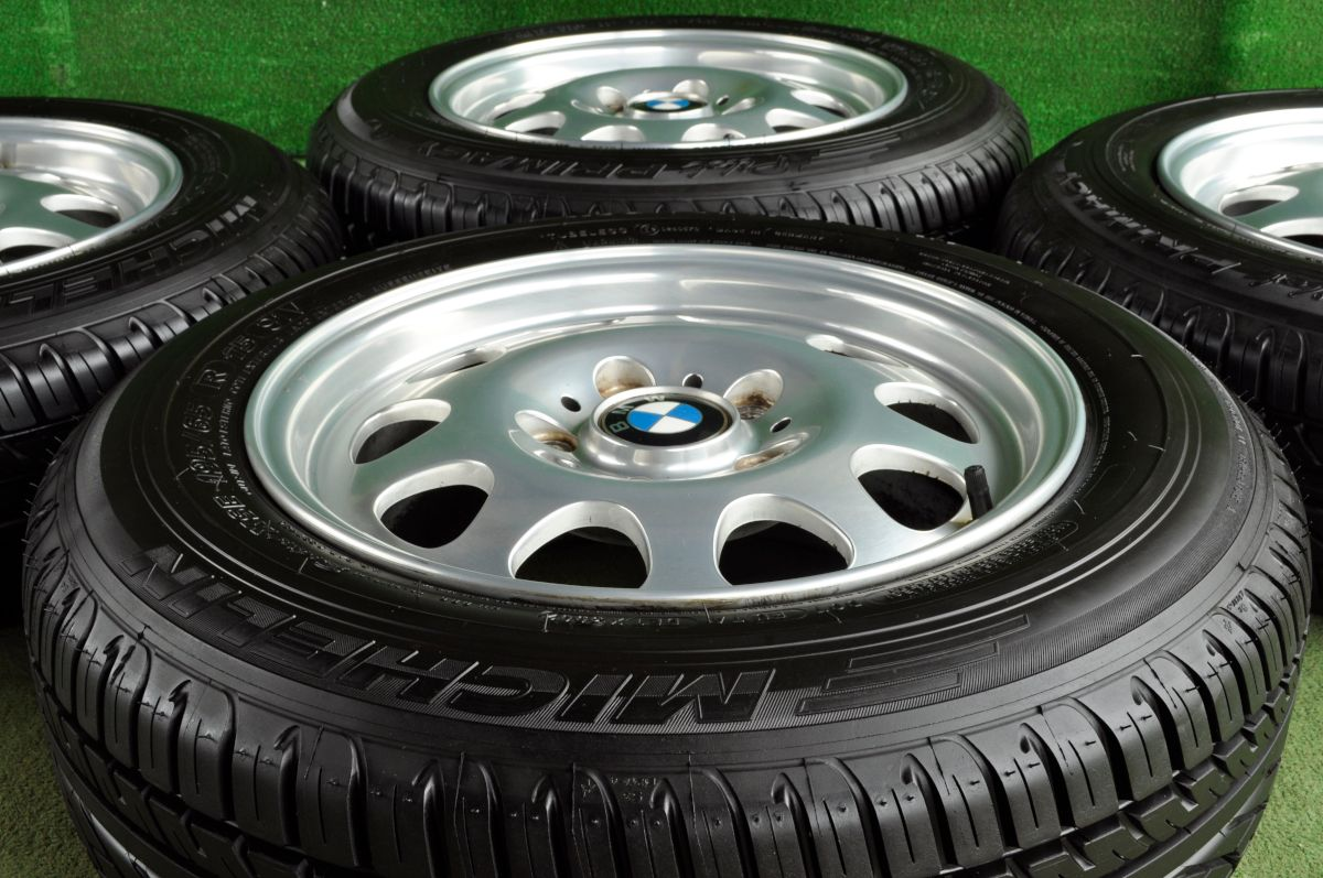 BMW 3シリーズ 純正 シルバー MICHELIN Pilot Primacy 195/65R15 4本SET