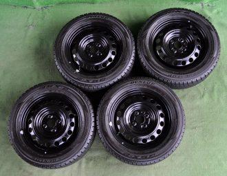 TOYOTA (トヨタ) AQUA (アクア) 純正 15×5.5J(+45)100-4H 新車外し ブラック DUNLOP (ダンロップ) DSX-2 175/65R15 4本SET