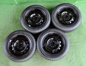MAZDA (マツダ) AXELA (アクセラ) 純正 15×6J(+52.5)114.3-5H リペア ブラック YOKOHAMA (ヨコハマ) iceGUARD (アイスガード) iG20 195/65R15 4本SET