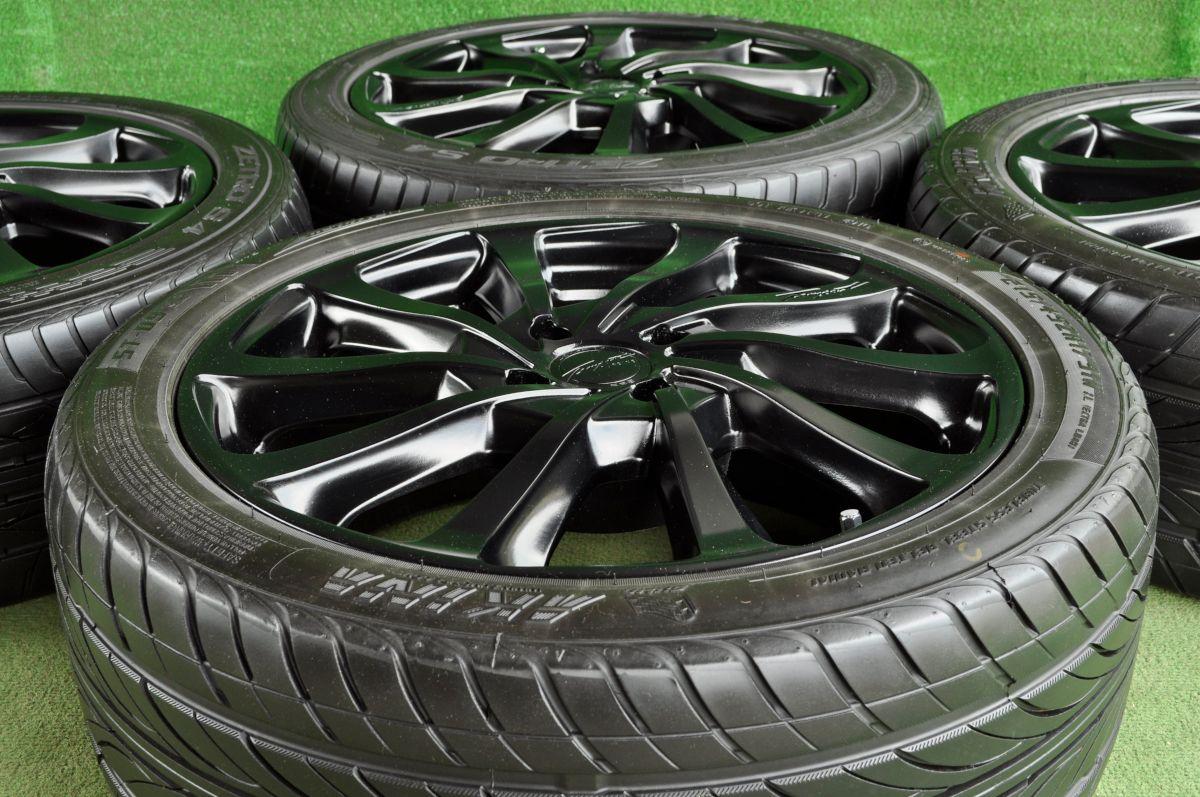 BADX LOXARNY TEMPEST TURBINE マットブラック SUMO AKINA ST-09 HANKOOK ZETRO S4 215/45ZR17 4本SET