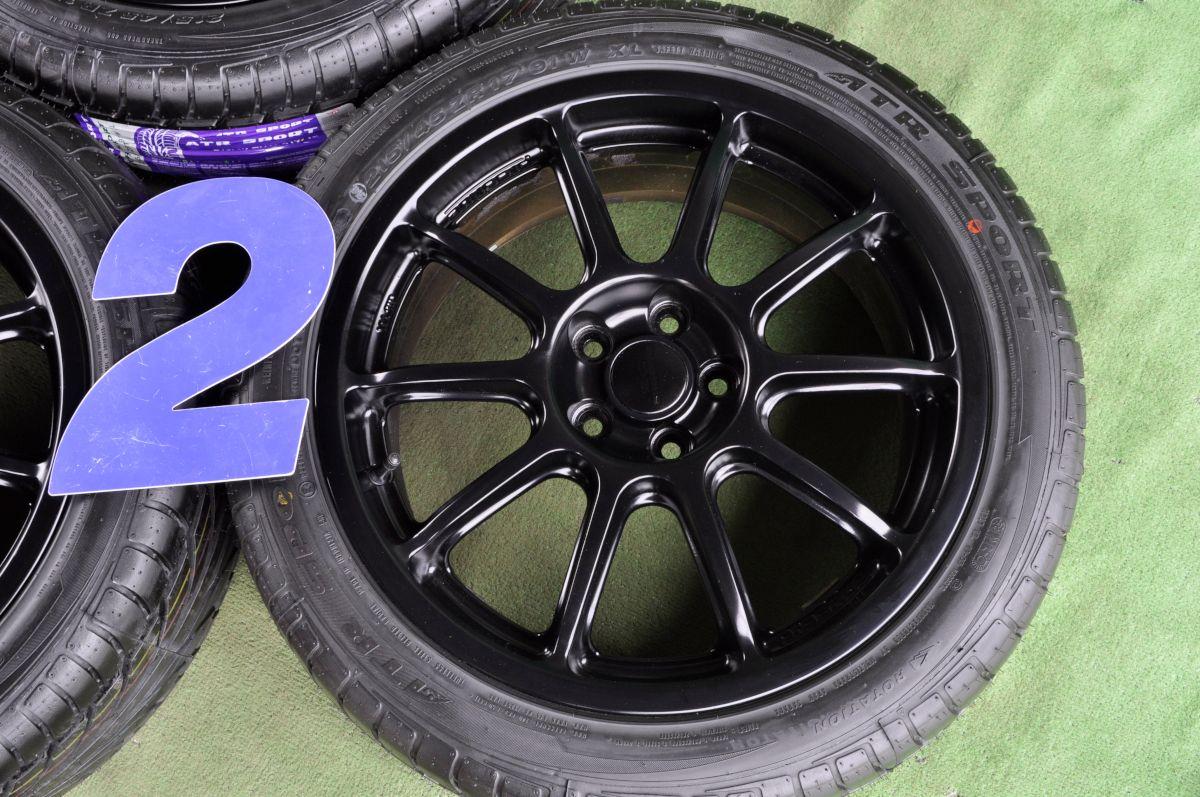 OZ PRODRIVE P-WRC-1 マットブラック ATR SPORT 215/45ZR17 4本SET