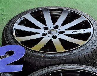 COSMIC (コズミック) VENERDI (ヴェネルディ) Hereborrani (エレボラーニ) CL-010 19×8J(+42)114.3-5H リメイク マットブラック ATR SPORT (スポーツ) 225/40ZR19 4本SET