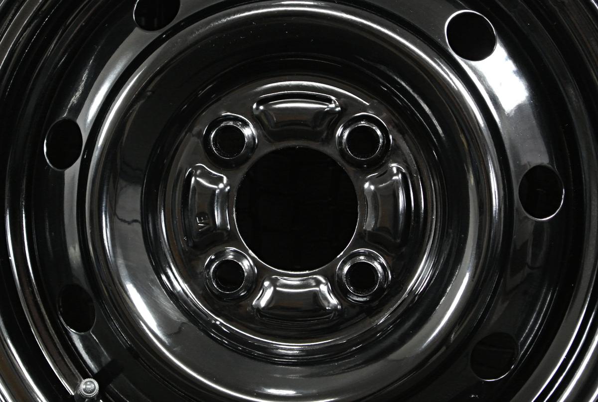 TOPY ブラック YOKOHAMA SY01 165R13LT 6PR 4本SET