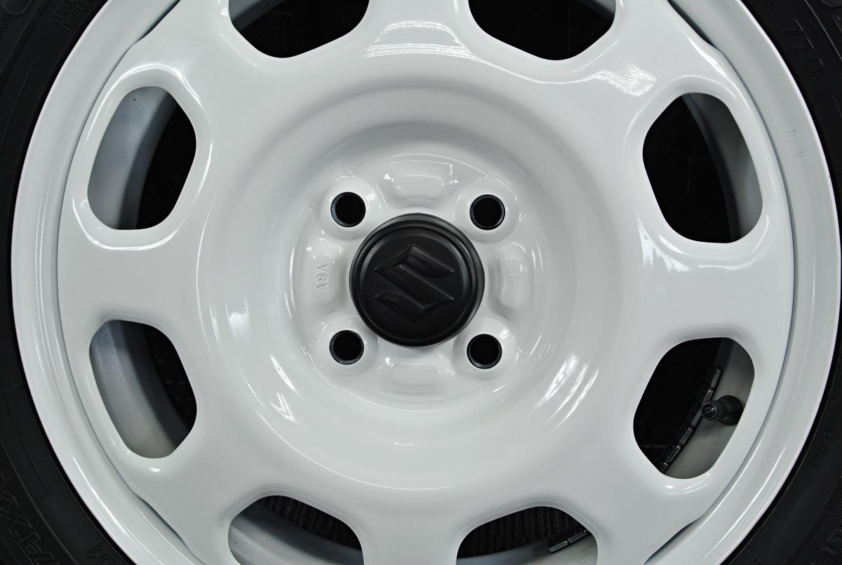 SUZUKI ハスラー 純正 ホワイト DUNLOP WINTER MAXX WM01 165/60R15 4本SET
