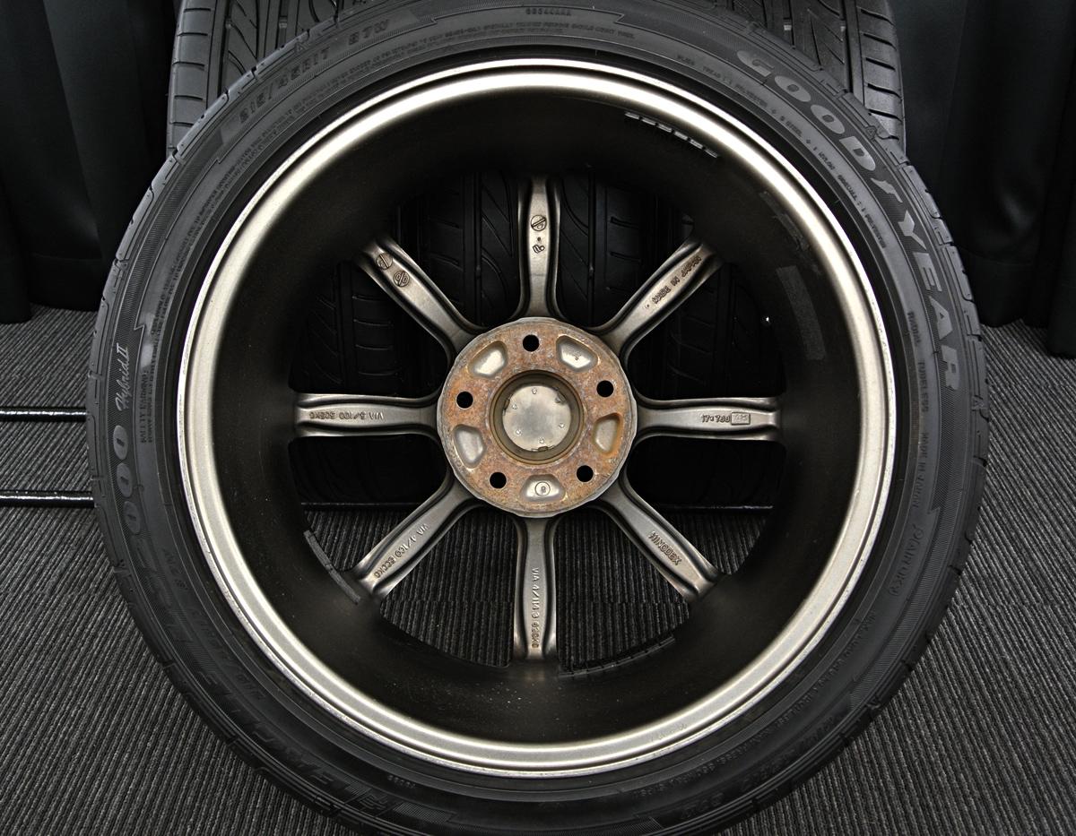 HINODEX STERN ガンメタ GOODYEAR EAGLE LS2000 Hybrid2 215/45R17 4本SET
