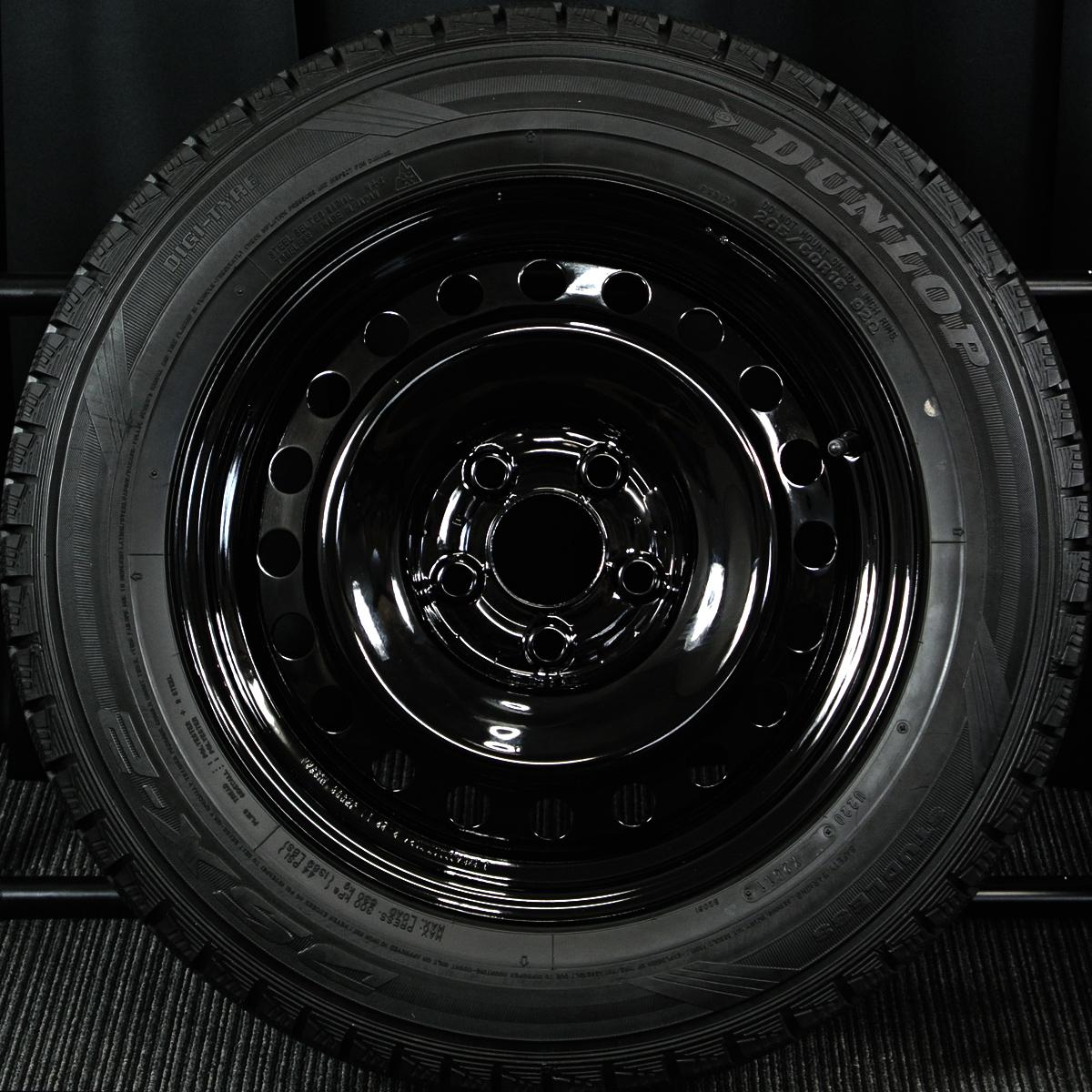 NISSAN ジューク 純正 ブラック DUNLOP DSX-2 205/60R16 4本SET