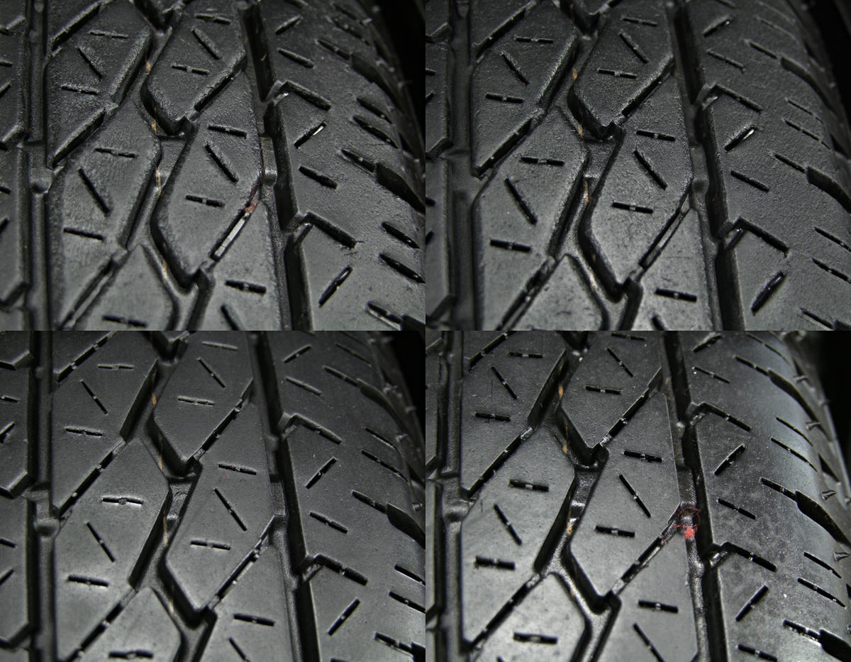 HOT STUFF Exceeder EX10 ダークシルバー BRIDGESTONE K300 145R12LT 6PR 4本SET