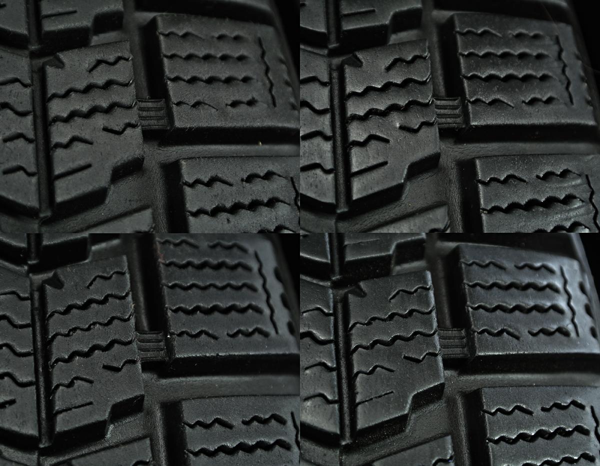 WEDS GYLE VIVAZA ガンメタ DUNLOP DSX-2 205/60R16 4本SET