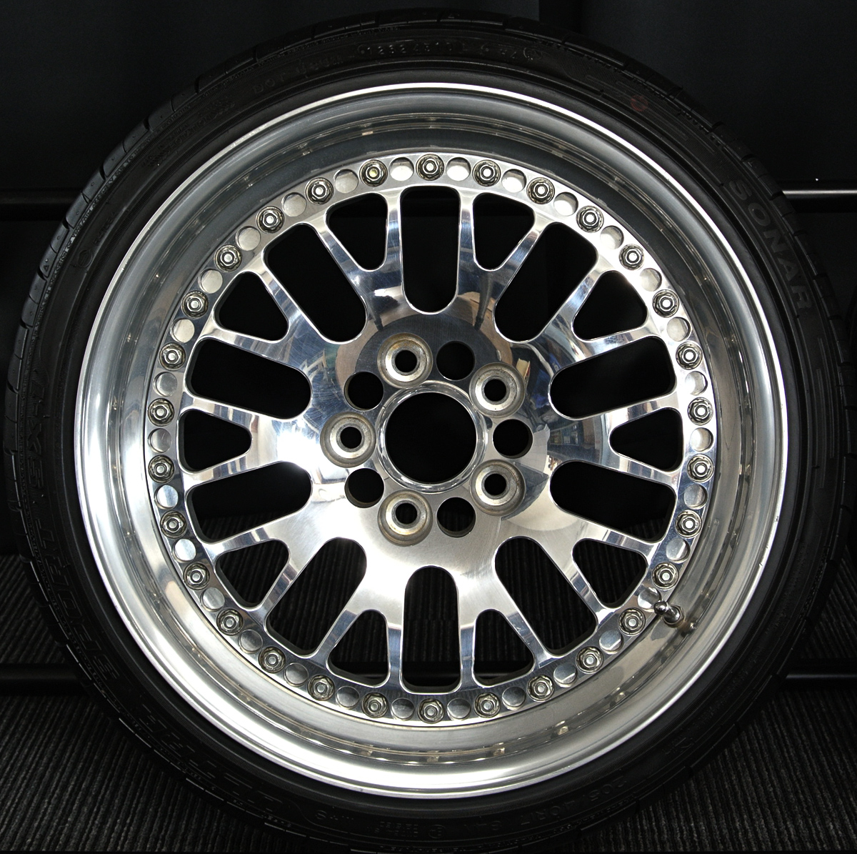 CCW Classic's race versions クロム SONAR ULTRA SPORT SX-1 205/40R17 4本SET