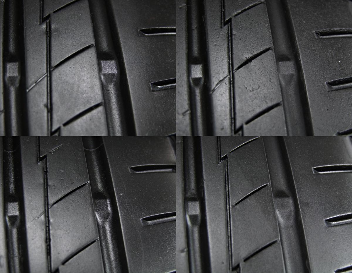 HONDA インスパイア 純正 ガンメタ YOKOHAMA BluEarth-A AE50 205/60R16 4本SET