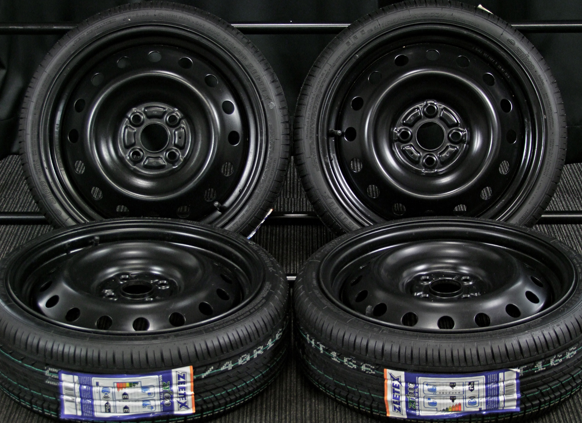 TOYOTA 純正 ブラック ZEETEX ZT1000 165/40R16 4本SET