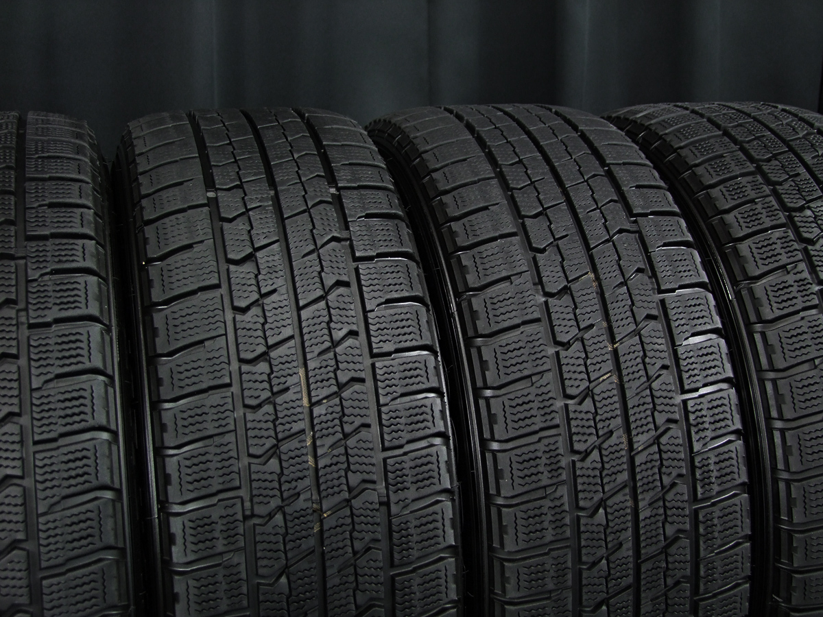 EUROPREMIUM Shine Spoke8 マットブラック GOODYEAR ICENAVI ZEA2 195/55R16 4本SET