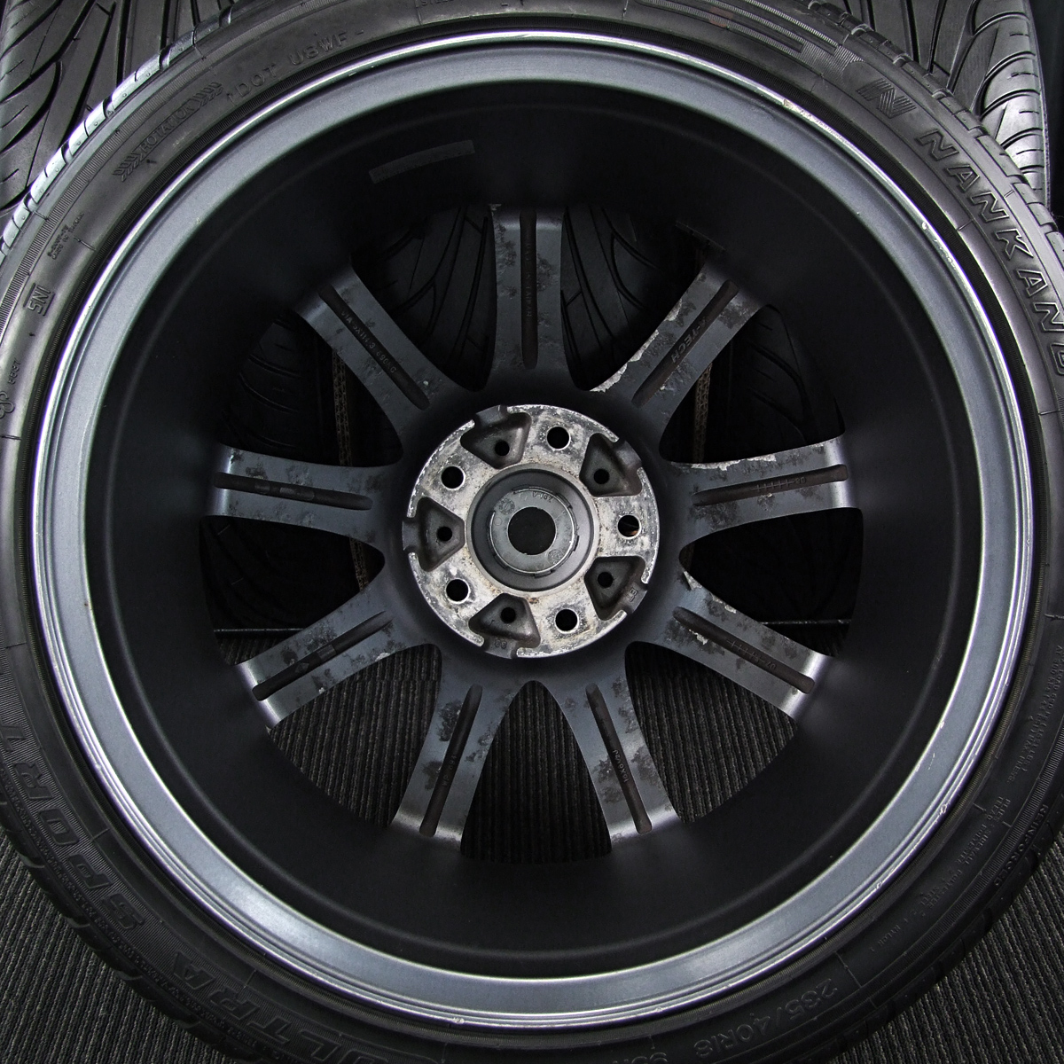 A-TECH FINAL SPEED FAVOR-Ⅸ マットガンメタ NANKANG ULTRA SPORT NS-2 235/40R18 4本SET