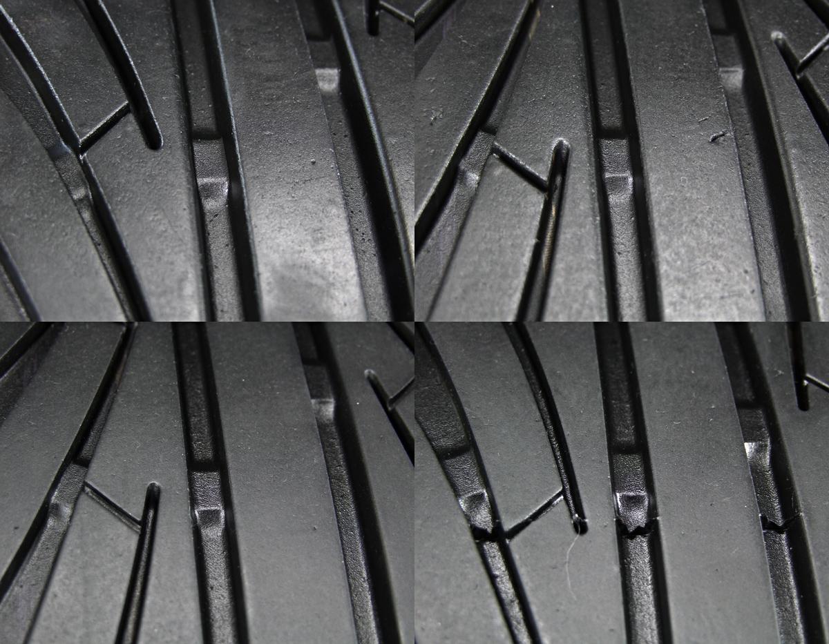 A-TECH FINAL SPEED FAVOR-Ⅸ マットガンメタ NANKANG ULTRA SPORT NS-2 235/40R18 4本SET
