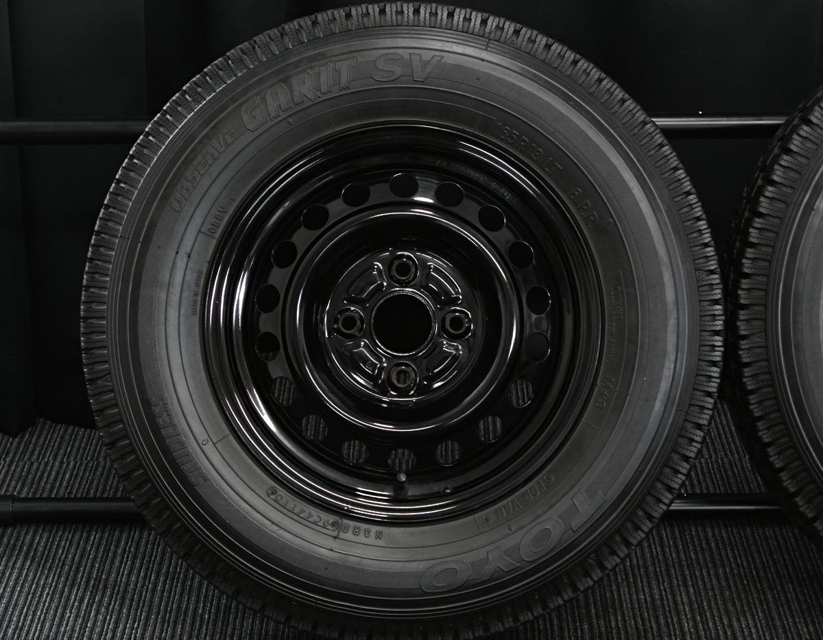 TOYOTA サクシードバン・プロボックスバン 純正 ブラック TOYO OBSERVE GARIT SV 165R13LT 6PR 4本SET