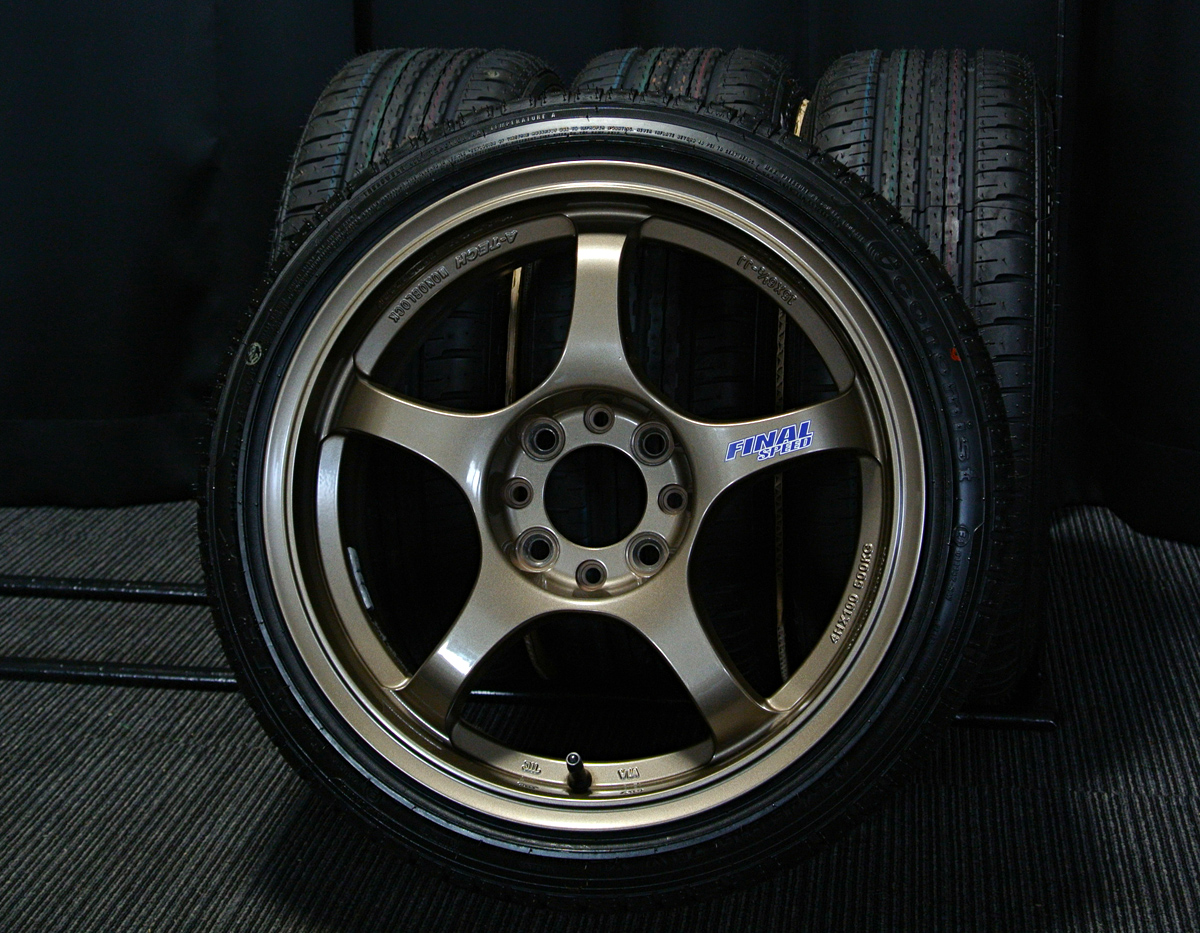 A-TECH FINAL SPEED CAST ブロンズ ATR SPORT Economist ATR-K 165/45R15 4本SET