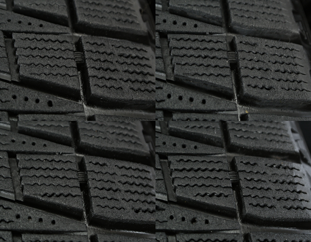 TARGA IRVINE シルバー BRIDGESTONE BLIZZAK REVO2 185/60R15 4本SET