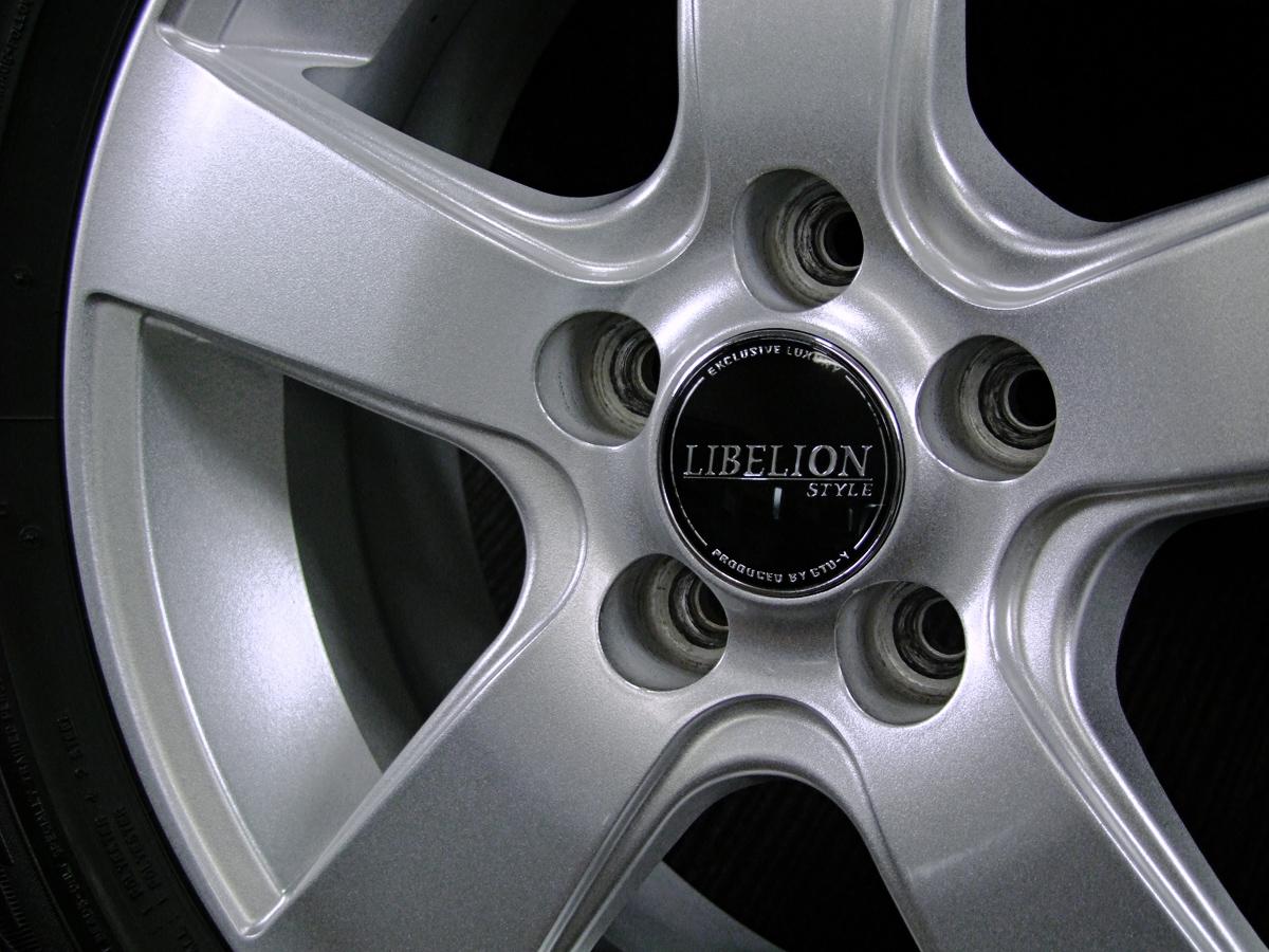 GTU-Y LIBELION STYLE シルバー DUNLOP DSX-2 195/65R15 4本SET