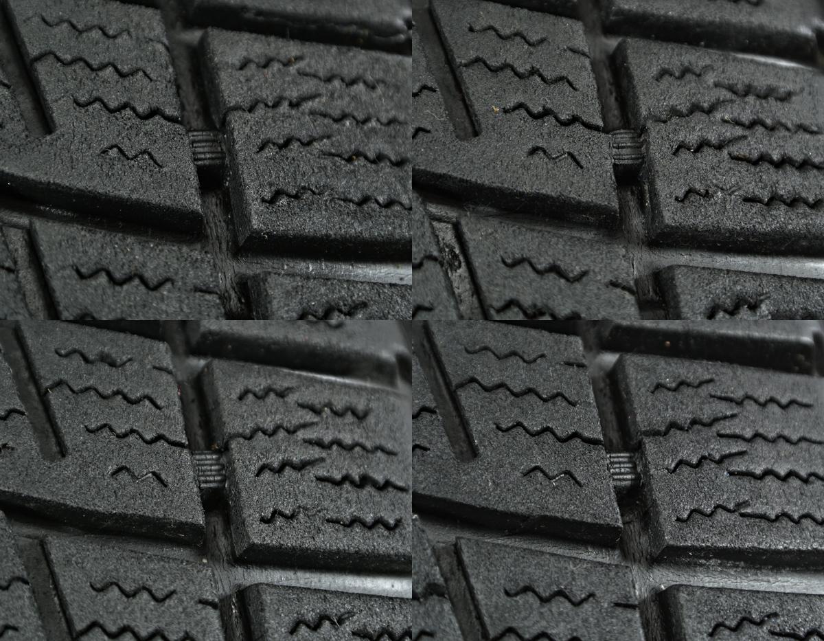 HONDA オデッセイ 純正 ブラックスチール BRIDGESTONE BLIZZAK REVO1 205/65R16 4本SET