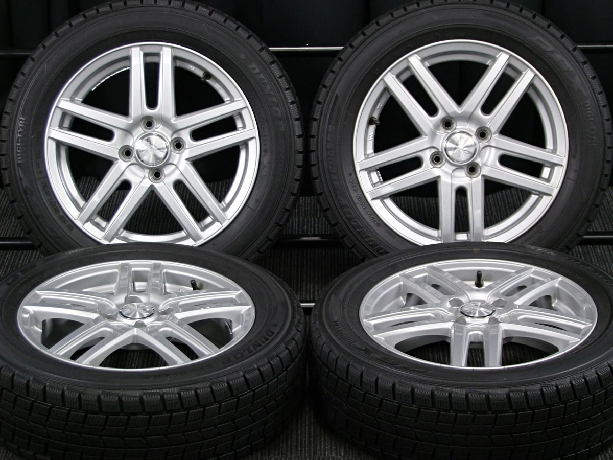 WEDS RAVRION SENSIT シルバー DUNLOP DSX 175/65R15 4本SET
