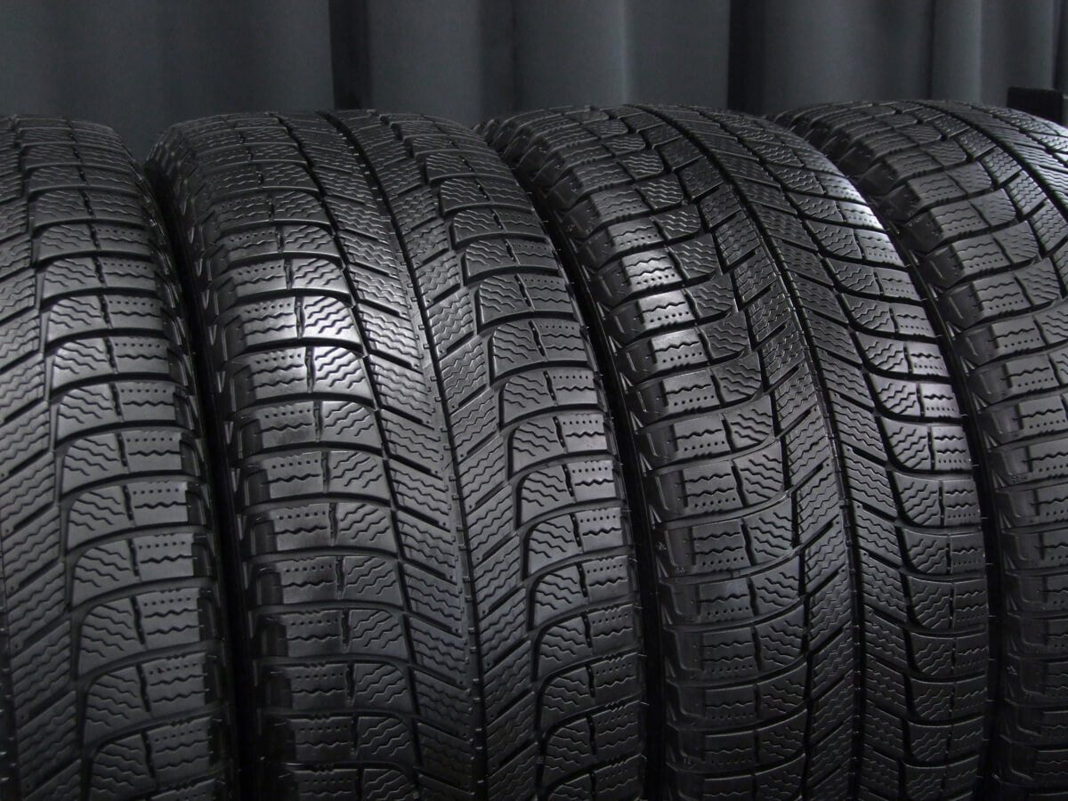 VOLVO 940 純正 ガンメタ MICHELIN X-ICE XI3 205/55R16 4本SET