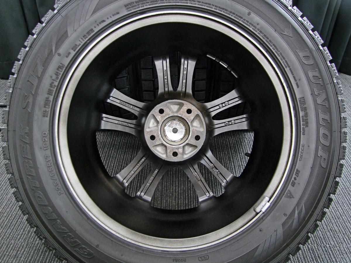 MANARAY SPORT EUROSPEED CX マットブラック DUNLOP GRANDTREK SJ7 225/65R17 4本SET