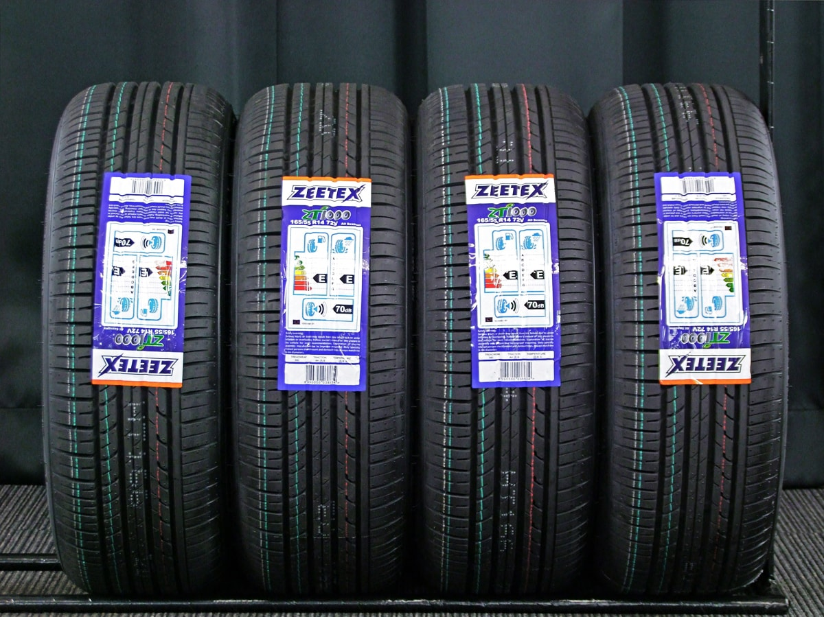 MAZDA 純正 マットブロンズ ZEETEX ZT1000 165/55R14 4本SET