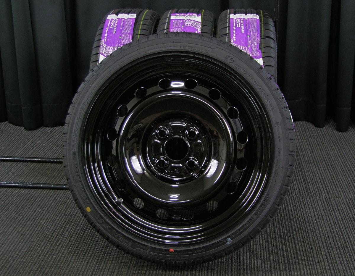 TOYOTA 純正 ブラック ATR SPORT Economist ATR-K 165/45R16 4本SET