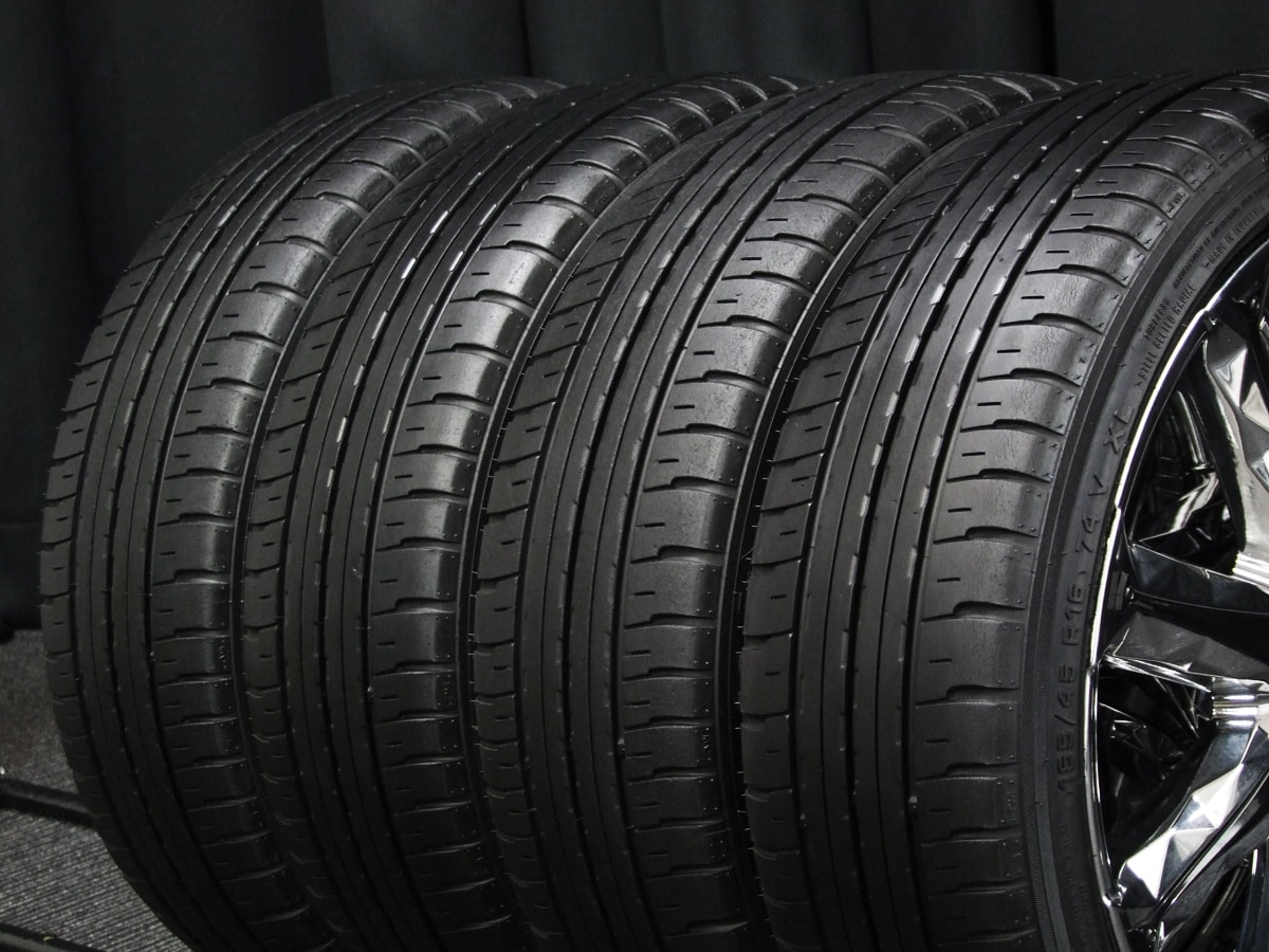 M'z SPEED Julia 24 Neige クロム ATR SPORT Economist ATR-K 165/45R16 4本SET