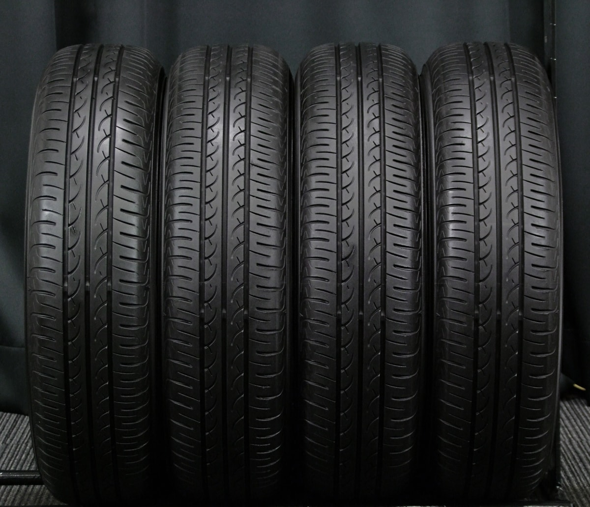 HOT STUFF EXCEEDER EX9 シルバー YOKOHAMA BluEarth AE-01 145/80R13 4本SET