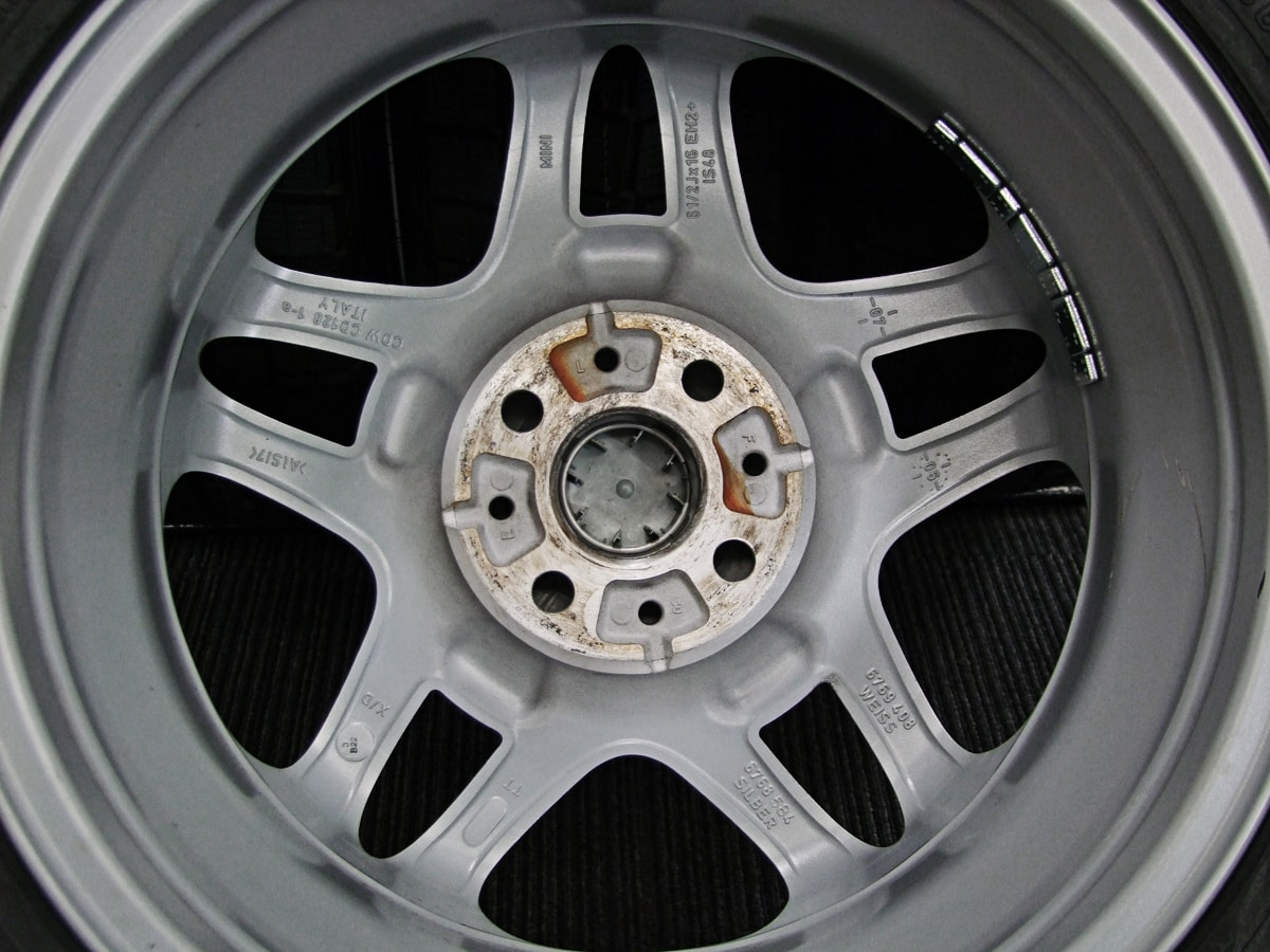BMW MINI クーパーS 純正 シルバー DUNLOP WINTER MAXX WM01 185/60R16 4本SET