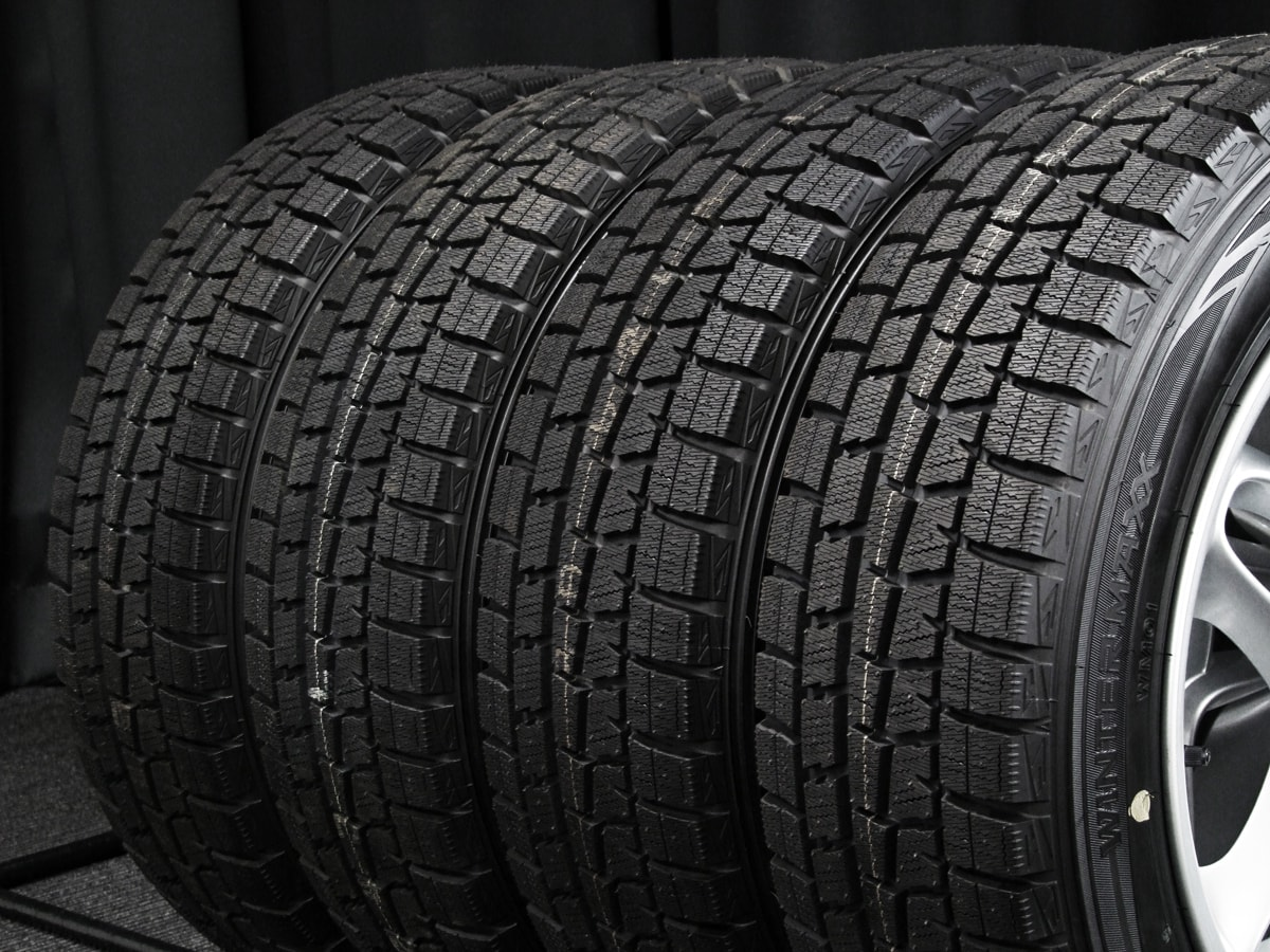 BMW MINI クーパーS 純正 シルバー DUNLOP WINTER MAXX WM01 185/60R16 4本SET