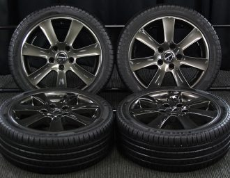 BMW専用M14ボルト対応BORBETガンメタ7J+40深溝215/45R17美品1シリーズE87 3シリーズE90/E46/E36 現行ミニMINI 平置き写真