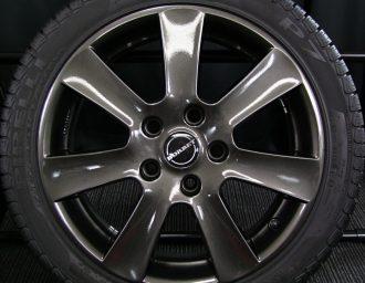 BMW専用M14ボルト対応BORBETガンメタ7J+40深溝215/45R17美品1シリーズE87 3シリーズE90/E46/E36 現行ミニMINI 4本目アップ写真