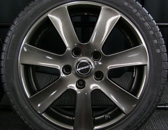 BMW専用M14ボルト対応BORBETガンメタ7J+40深溝215/45R17美品1シリーズE87 3シリーズE90/E46/E36 現行ミニMINI 3本目アップ写真