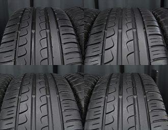 BMW専用M14ボルト対応BORBETガンメタ7J+40深溝215/45R17美品1シリーズE87 3シリーズE90/E46/E36 現行ミニMINI トレッド4本アップ