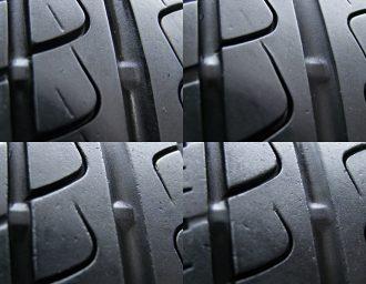BMW専用M14ボルト対応BORBETガンメタ7J+40深溝215/45R17美品1シリーズE87 3シリーズE90/E46/E36 現行ミニMINI スリップサイン4本アップ写真