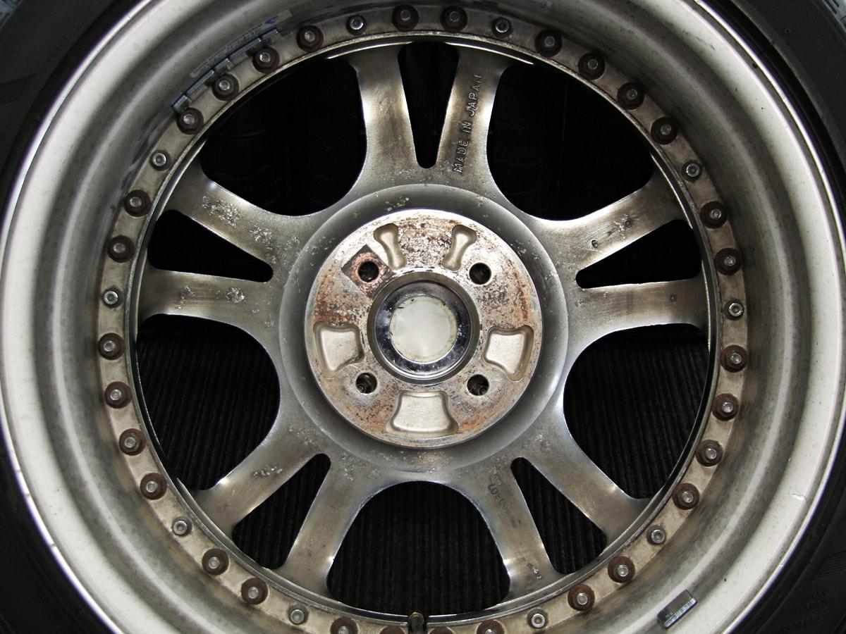 SUPERSTAR LODIO DRIVE クロム BRIDGESTONE Playz PZ-1 205/45R17 4本SET