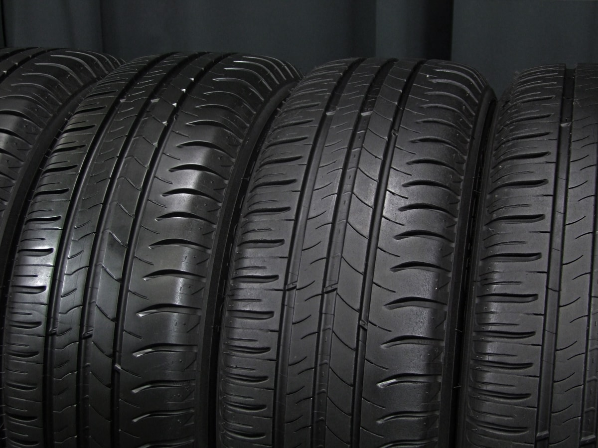 OZ MSW ホワイト MICHELIN ENERGY SAVER 195/60R15 4本SET
