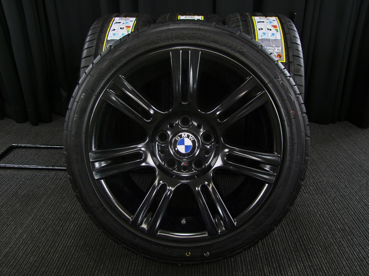 BMW 3シリーズ M-SPORT 純正 MINERVA EMI ZERO UHP 225/45R17 255/40R17 4本SET