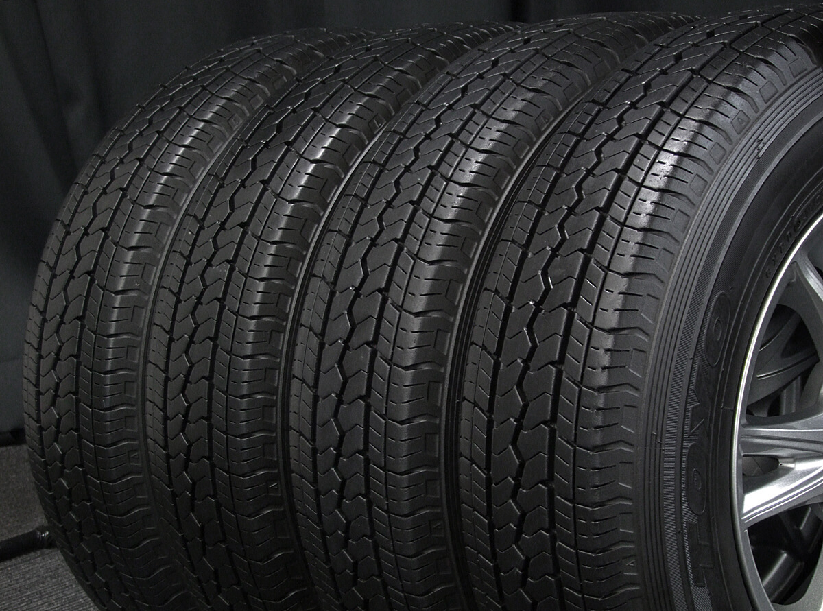 HOT STUFF EXCEEDER EX6 ダークシルバー TOYO V-02 165R13LT 6PR 4本SET